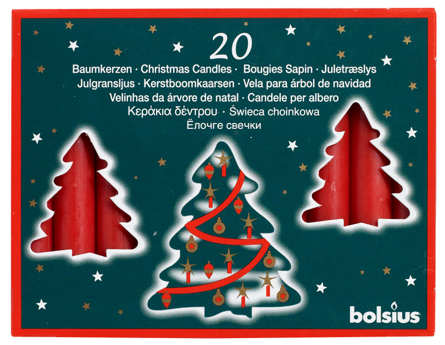AKTION-400-Baumkerzen-97x13mm-rot-Christbaumkerzen-von-Bolsius