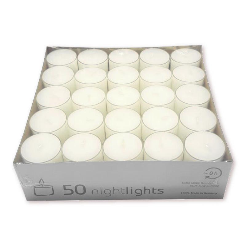 teelichter im acryl cup transparent ca 8 std brenndauer wenzel teelichte neu ebay. Black Bedroom Furniture Sets. Home Design Ideas